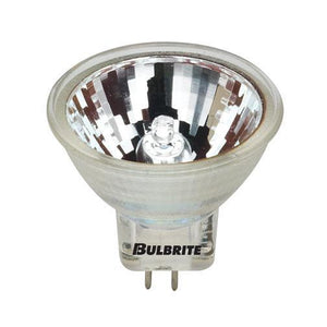 MR11 36° Wide Flood with Cover Halogen Bulb - GU4 Base - 20W - Bulbrite