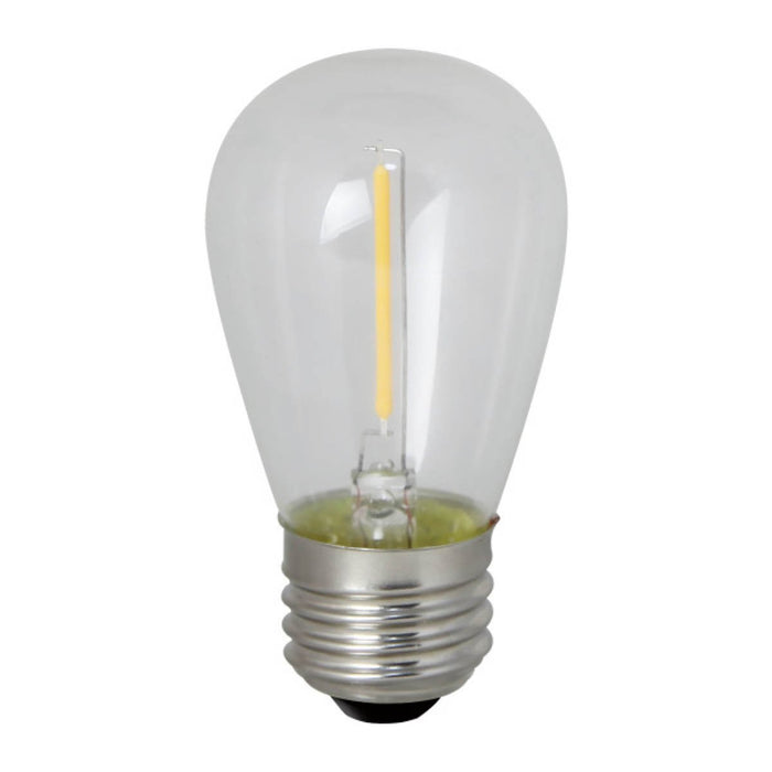S14 Filament String Light LED Bulb - E26 Medium Base - 0.7W - Bulbrite