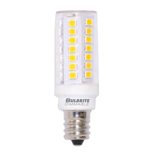 T6 Halogen and Xenon Retrofit LED Bulb - E11 Minican Base - 5W - Bulbrite