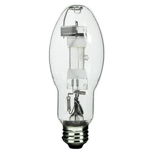 BD17 Unprotected Arc Tube Pulse Start Metal Halide Bulb - E26 Medium Base - 175W - GE