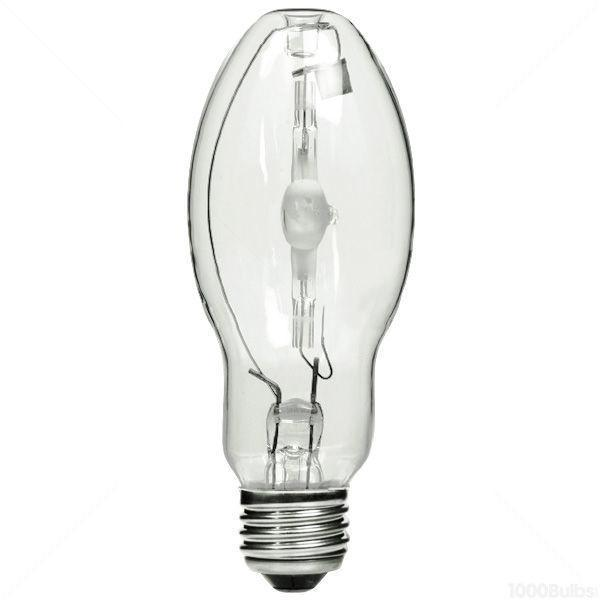 BD17 Multi-Vapor PulseArc Quartz Metal Halide Lamp - E26 Medium Base - 70W - GE