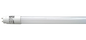 T8 4' Linear Dual Mode LED Bulb - G13 Bi-Pin Base - 13W - SATCO