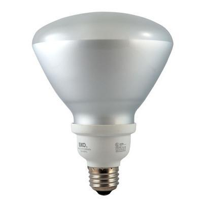 R40 Shape Flood Compact Fluorescent Bulb - E26 Medium Base - 23W - EIKO