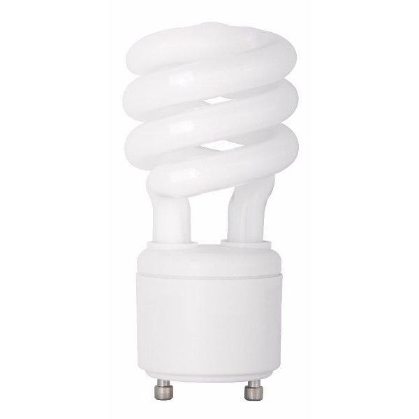 Spiral Twist Compact Fluorescent Bulb - GU24 Twist & Lock Base - 23W - TCP