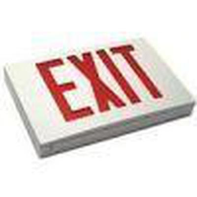 Emergency LED Exit Sign Double-Faced with Battery Back-Up - Green, Red - BEST