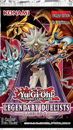 Yu-Gi-Oh! - Legendary Duelist-Rage of Ra-Booster Case-Unlimited Edition