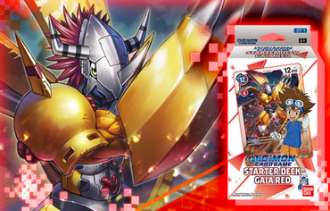 Digimon Card Game-Starter Deck-Gaia Red (ST-1) (Pre-Order January)