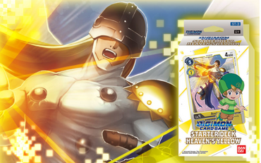 Digimon Card Game-Starter Deck-Heaven's Yellow (ST-3) (Pre-Order January)