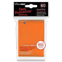 Ultra Pro – Small Card Sleeves 60pk - Orange