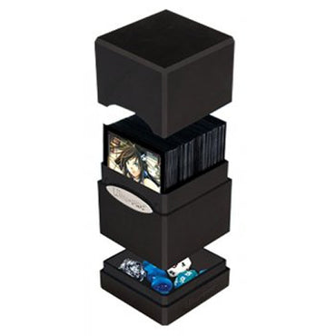 Ultra Pro - Satin Tower Deck Box - Black