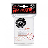 Ultra Pro - Small Pro Matte Card Sleeves 60pk - White