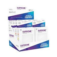 Ultimate Guard - Japanese Supreme UX Sleeves 60 Pack – White