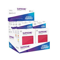 Ultimate Guard - Japanese Supreme UX Sleeves 60 Pack – Red