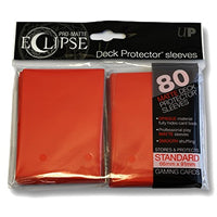 Ultra Pro - Eclipse Standard Pro Matte (80 Pack) - Red