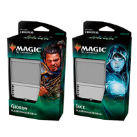 Magic The Gathering - War Of The Spark - Planeswalker Deck- Gideon (White & Black)