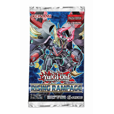 Yu-Gi-Oh! - Rising Rampage Booster Pack