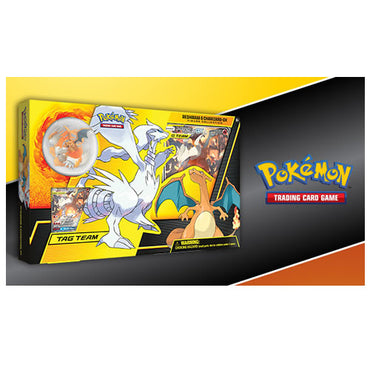 Pokemon - Reshiram & Charizard-GX Figure Collection