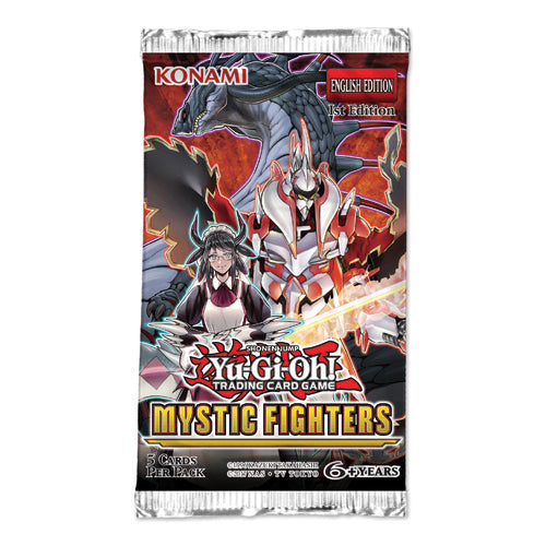 Yu-Gi-Oh!- Mystic Fighters Booster Pack