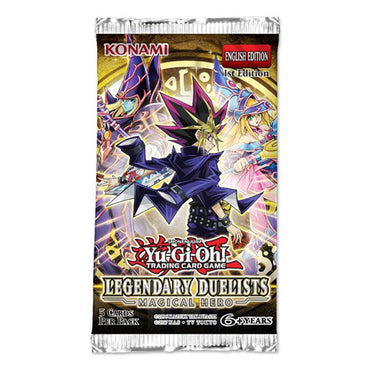 Yu-Gi-Oh! - Legendary Duelist Magical Hero-Booster Pack (Unlimited Edition)