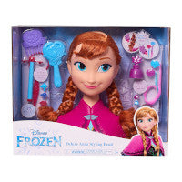 Disney-Frozen - Deluxe Anna Styling Head