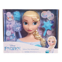 Disney-Frozen - Deluxe Elsa Styling Head