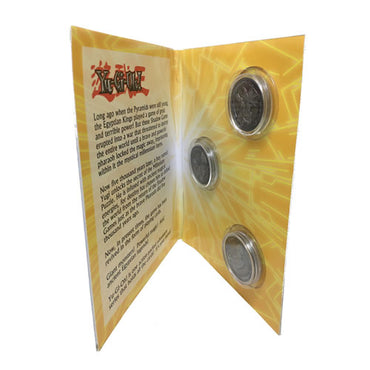 Yu-Gi-Oh! - Limited Edition Coin Album With 3 Coins (Pre-Order)