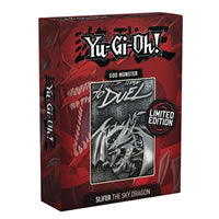 Yu-Gi-Oh! - Limited Edition Metal God Card Slifer The Sky Dragon