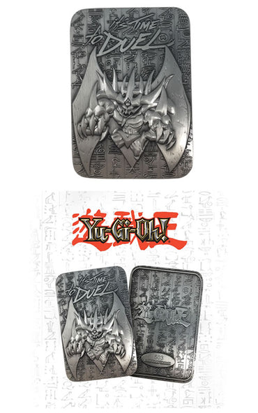 Yu-Gi-Oh! - Limited Edition Metal God Card Obelisk The Tormentor