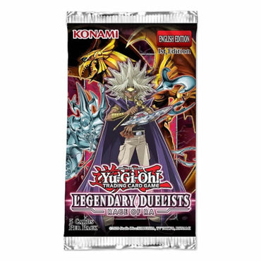 Yu-Gi-Oh! - Legendary Duelist-Rage of Ra-Booster Pack Unlimited Edition (Pre-Order)