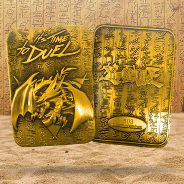Yu-Gi-Oh! - Limited Edition 24K Gold Plated God Card Slifer The Sky Dragon