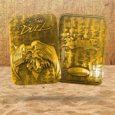 Yu-Gi-Oh! - Limited Edition 24K Gold Plated God Winged Dragon Of Ra