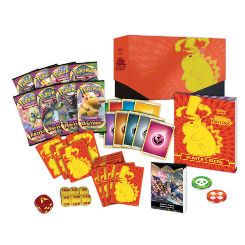 Pokemon - Sword & Shield 4 Vivid Voltage - Elite Trainer Box (1 PER CUSTOMER) UK & Ireland Only