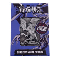 Yu-Gi-Oh! -Limited Edition Metal  Card Blue Eyes White Dragon (Pre-Order)
