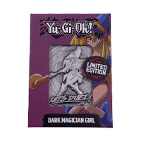 Yu-Gi-Oh! -Limited Edition Metal  Card The Dark Magician Girl (Pre-Order)