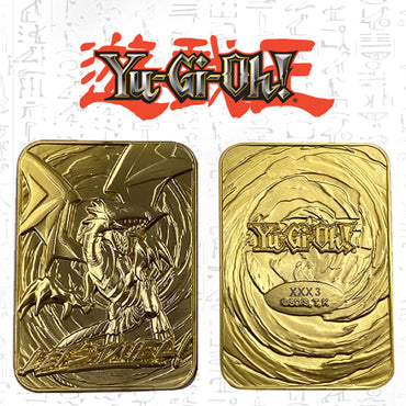 Yu-Gi-Oh! - Limited Edition 24K Gold Plated God Card Blue Eyes White Dragon