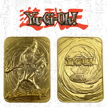 Yu-Gi-Oh! - Limited Edition 24K Gold Plated God Card Dark Magician Girl