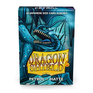 Dragon Shield-Petrol-Matte Japanese Size Sleeves-Pack of 60
