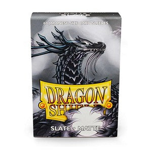Dragon Shield-Slate-Matte Japanese Size Sleeves-Pack of 60