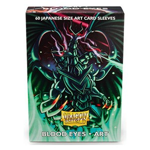 Dragon Shield Art Sleeves-Blood Eyes-Japanese Size Sleeves-Pack of 60