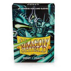 Dragon Shield-Mint-Matte Japanese Size Sleeves-Pack of 60