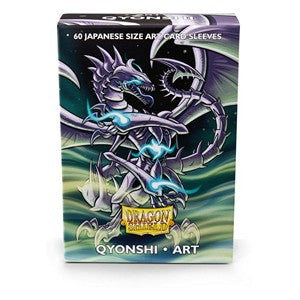 Dragon Shield Art Sleeves-Qyonshi-Japanese Size Sleeves-Pack of 60