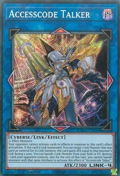Accesscode Talker-Secret Rare-1st Edition-ETCO EN046 (NM)