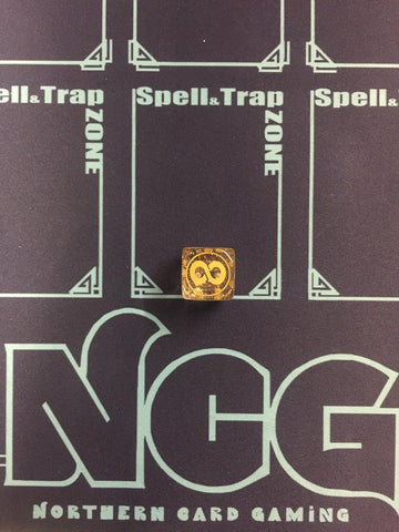 Yu-Gi-Oh! Gold Continuous Spell Dice