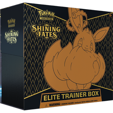 Pokemon-Shining Fates- Elite Trainer Box 3 PER CUSTOMER (UK&Ireland)