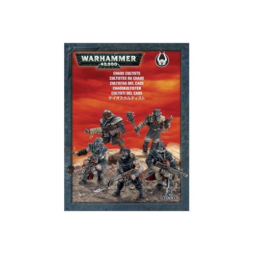 Easy to Build: Chaos Space Marines Chaos Cultists