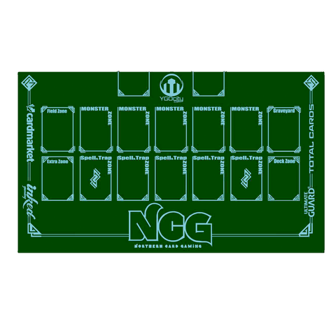 Northern Card Gaming - Yu-Gi-Oh! Zoned Playmat