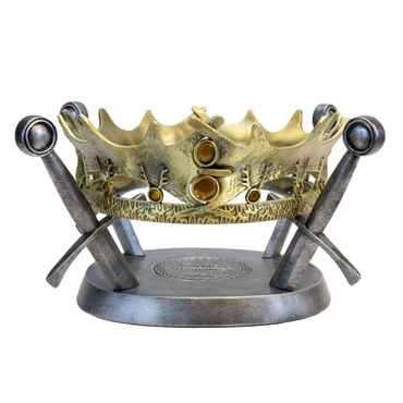Game of Thrones Replica Crown of King Robert Baratheon Limited Edition 25 cm