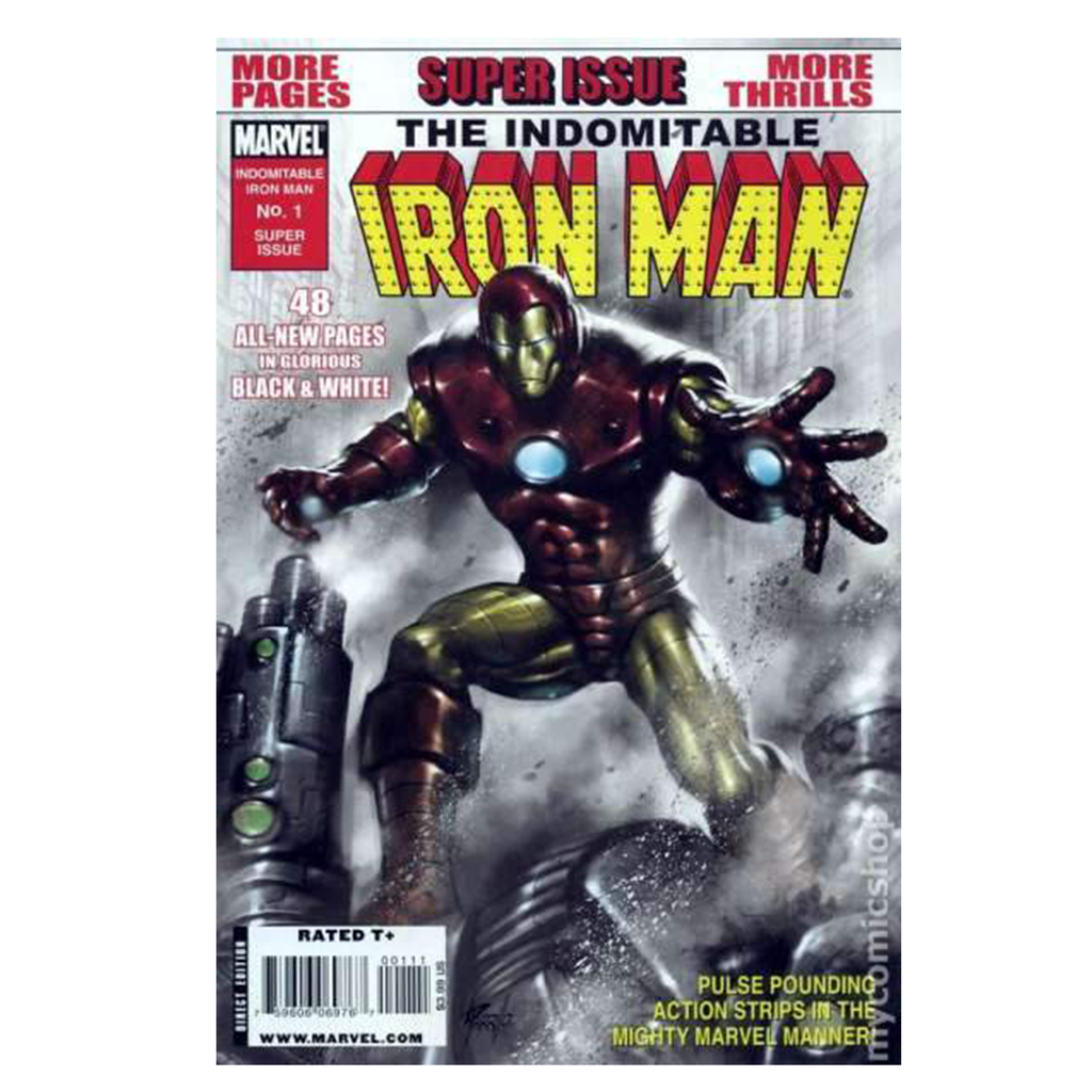 Indomitable Iron Man Comic Books #1