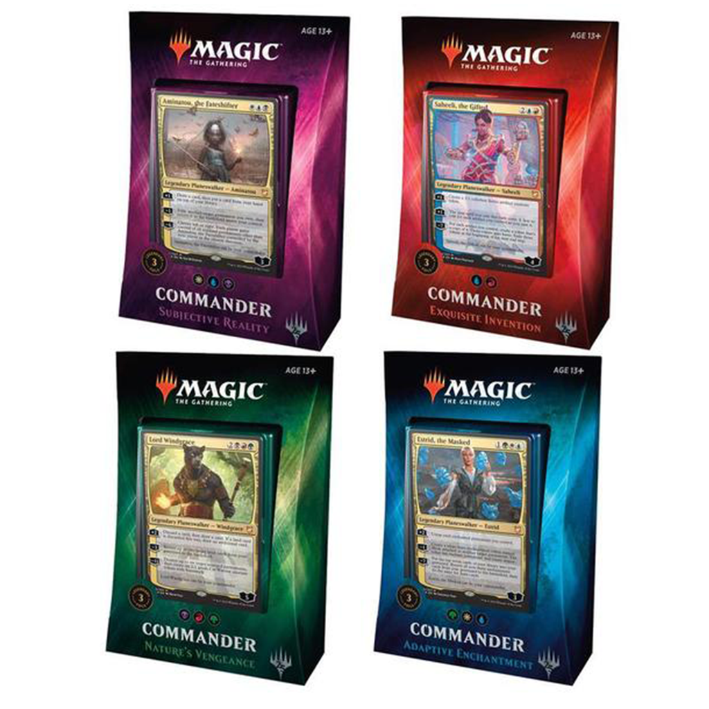 Magic The Gathering - Commander 2018 (4 Count)