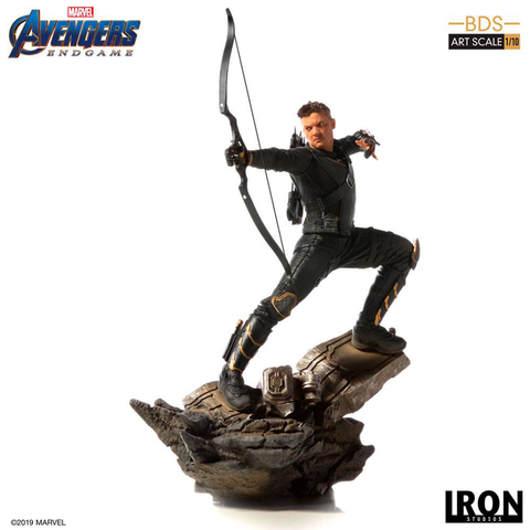 Avengers Endgame BDS Art Scale Statue 1/10 Hawkeye 25 cm